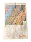 1966 Geologic Map of Tennessee - East / Central Sheet - 49' x 31'