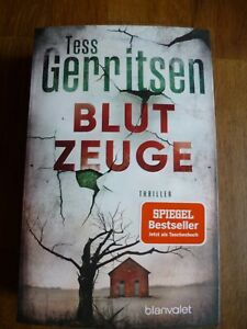 """""""Blutzeuge"""" von Tess Gerritsen (Taschenbuch)"""