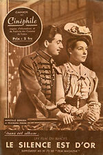 CAHIER DU CINEPHILE,SILENZIO E D'ORO,1947 Silence est D'or, RENE CLAIR,CHEVALIER