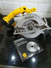 DeWalt DC390 XRP 18v Cordless Circular Saw With Battery and new blade Unit Only