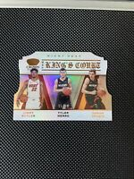 SP Heat 2019-20 Crown Royale Kings Court #95/99 Jimmy Butler/Tyler Herro/Dragic