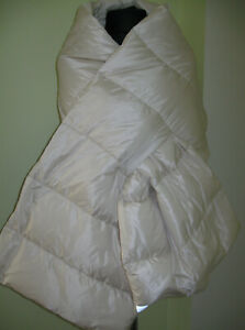 Max Mara The Cube Seisca Down  Padded Multifunctional Scarf/Wrap/Vest