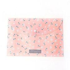 1pcs Durable Folder Romantic Floral File Bag Paper A4 School Stationery Supplies