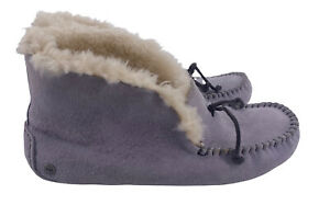 """UGG ALENA MOCCASIN SLIPPERS SIZE 7 In Light Purple """"worn Once"""" SOLD OUT"""