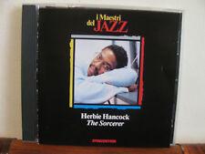 HERBIE HANCOCK the sorcerer -CD-Maestri del Jazz-De Agostini- fuori commer