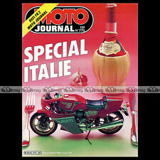 MOTO JOURNAL N°772 ★ SPECIAL ITALIA ★ LAVERDA 600 ATLAS, CU 125 RIDE & GS 1986