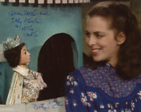 LADY BETTY ABERLIN SIGNED 8x10 PHOTO MISTER ROGERS' NEIGHBORHOOD BECKETT BAS