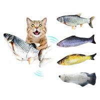 Gatti Menta Pesce Gioco Elettrico Pesce Animale Domestico Interattiva Catnip