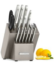 KitchenAid Architect Series 16-Piece Stainless Steel Cutlery Knife Block Set
