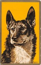 Dog Artist Morgan Dennis Single Swap Playing Card Vintage