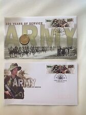 2001 - Australia - AUSTRALIAN ARMY 100 Years of Service PNC & FDC
