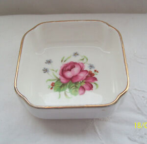 Hornsea England Country Scene Pretty Trinket and or Butter Pat Dish
