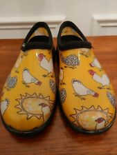 Sloggers Water Proof Chicken Garden Shoes Size 7