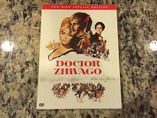 DOCTOR ZHIVAGO TWO DISC SPECIAL EDITION LIKE NEW NO SCRATCHES DVD OMAR SHARIF!