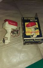 Vintage Langcraft Electric Powered Outboard Model boat Motor untested