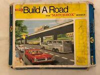 VINTAGE 1967 SUPER MATCHBOX BUILD A ROAD SET  CONTENTS ARE IN MINT CONDITION