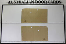 Holden FC. Ute, Panel Van Door Cards. Blank Trim Panels. Supports Special Strip.