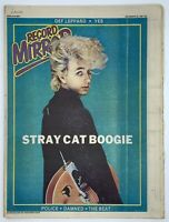 Record Mirror December 20 1980 Stray Cats Def Leppard Yes Police Damned The Beat