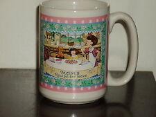 RARE Mary Engelbreit Coffee Mug Cup ~ Mom's Recipe for Love ~