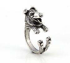 Rough Collie Dog Wrap Around Ring