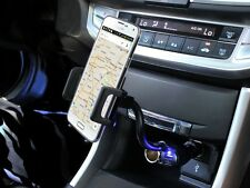 Car Cigarette Lighter Mount Holder Charger for Samsung Galaxy Note 5 4 CellPhone