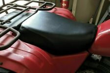 HONDA ATC 200E 1982-83 Big Red  Custom Hand Made Plain Black Seat Cover