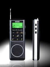 Brand new DEGEN DE1127 4G MP3 Recorder Radio FM/MW/SW DSP Receiver mini radio