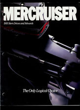 Rare Vintage 1989 Mercury Mercruiser Stern Drive & Inboards Catalog Brochure