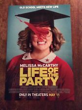 Life Of The Party Melissa McCarthy May 11 Promo Movie Poster I#577
