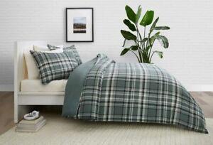 Pendleton Stanfield Comforter Set, Shale Multi Grey Plaid, Twin XL