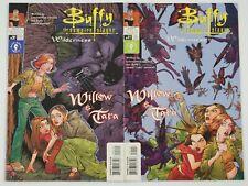 Buffy the Vampire Slayer: Willow & Tara - Wilderness #1-2 Vf/Nm complete series