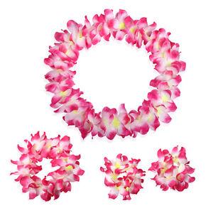 Hawaii Hula Lei Garland Flower Luau Tropical Party Favor Fancy Dress Evening Hot