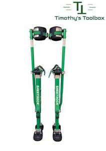 "USG Sheetrock Magnesium, Lightweight Professional Drywall Stilts 24-40"""