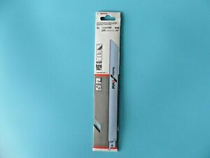 """BOSCH S1122BF RECIPROCATING SAW BLADES 225mm (9"""") ~ PACK OF 5 ~ NEW SEALED PACK"""