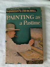 Winston S. Churchill - Painting as a Pastime, 1st U.S. edition, in dust jacket