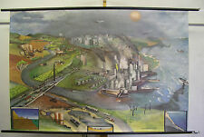 School Wall Mural Wall Picture Image Endangered environmental ecology climate change Exhaust 158x107