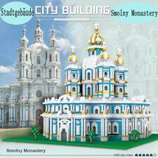 3737 Stücke Smolny Kathedrale Bausteine DIY Fun Gebäude Lernspielzeug für Kinder