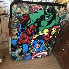 "iPad Pro 9.7 ""  Marvel Comics Avengers Tablet Case Neoprene Easy Zip"