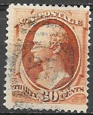 USA 30c Webster Scott type A53 very nice clear stamp see scans