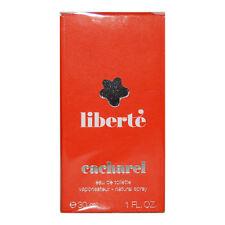 (EUR 206,67/100 ml) Cacharel Liberté Eau de Toilette EdT 30 ml Femme Rarität NEU