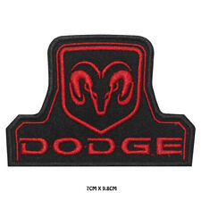 DODGE RAM Racing Car Brand Embroidered Iron on Patch Sew On Badge