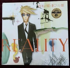 DAVID BOWIE VINYL reality LP SEALED Tri-Fold COLORED VINYL 180 gram RTI 2015