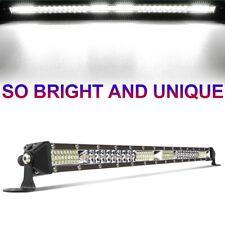 Slim 22inch 520W Straight Led work Light Bar Spot Flood Offroad SUV TRUCK
