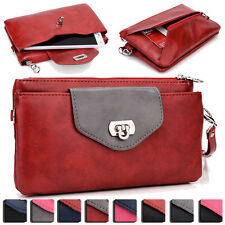 Womens Fashion Smart-Phone Wallet Case Cover & Evening Purse EI64-16