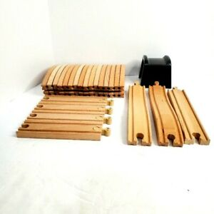 Thomas The Train Wooden Train Track Pieces Double Sided 18 & Single Sided 5 Pcs