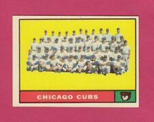 1961 Topps # 122 Chicago Cubs Team Card  (NM)  Box 739