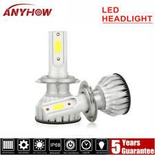 2x H7 COB LED Headlight Bulbs Kits High Low Beam 8000K 100W 20000LM Blue Lamp