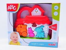 53115 | Simba Spielzeug Baby ABC Bahnhof mit 16 Sounds + Licht ab 1 Jahr NEU OVP
