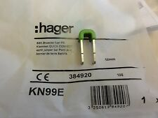 Hager KN99E Klemmverbinder gn/ge für Zusatzklemmsteine in U-Verteiler