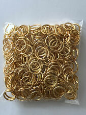 300 pcs Gold Plated Open Jump Rings 10mm Jewelry Ring Tools Earring 52B Findings